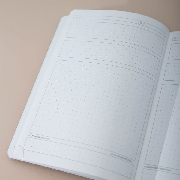 Image of the Journal Page within the Theme Journal